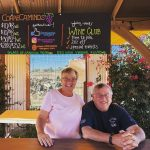 Sue and Doug, owners, winemakers, and hosts