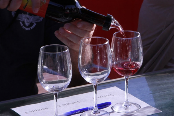 VIPs learned how to blend their own wines and make something all their own!